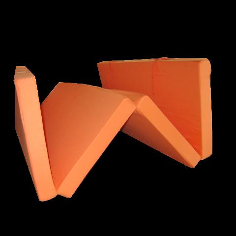 Сгъваем матрак 195/120/7 см. оранжев