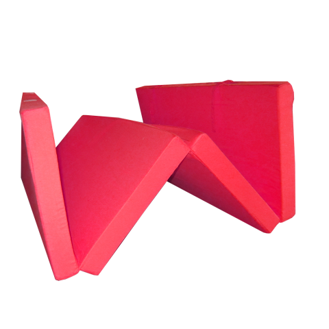 Сгъваем матрак 195/120/7 см. червен
