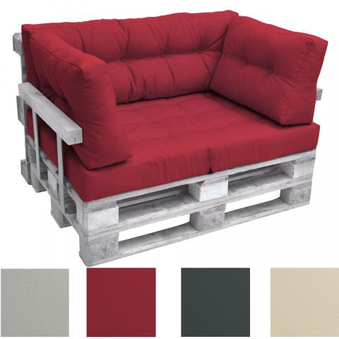 Комплект възглавници за мебел от палета ЛУКС 1